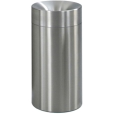 Standmülleimer Aluminium Image